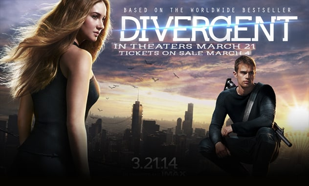 Advance Tickets For DIVERGENT On Sale Now - Link Inside 1