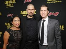 SABOTAGE (in theaters March 28)  -  Photos from LA Premiere  1