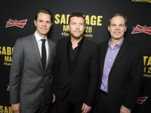 SABOTAGE (in theaters March 28)  -  Photos from LA Premiere  8