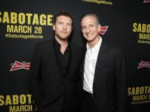 SABOTAGE (in theaters March 28)  -  Photos from LA Premiere  9