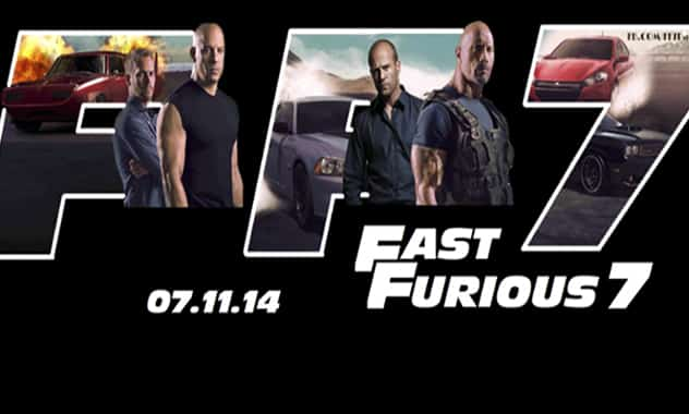 Despite Delays 'Fast & Furious 7' To Speed Up Production This Month