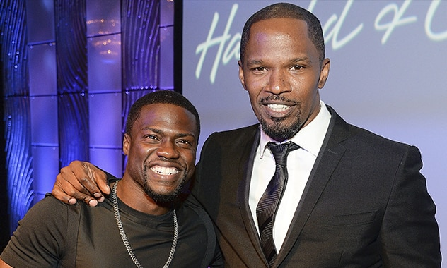Kevin Hart and Jamie Foxx Teaming in Screen Gems' 'Black Phantom'