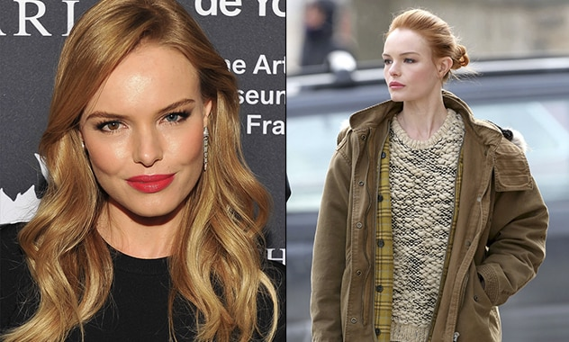 Kate Bosworth Goes for Red as the Actress Prepares for her New Role