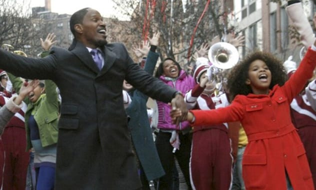 Quvenzhané Wallis and Jamie Foxx In First Trailer First Trailer for the 2014 Remake of 'Annie'