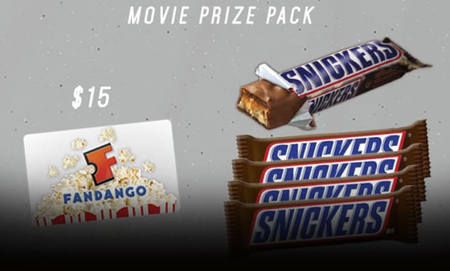 --CLOSED--SNICKERS Ultimate Movie Pack Giveaway--CLOSED-- 2