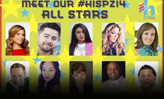 Hispanicize 2014 Announces its 10 All Star Social Media Correspondents 2