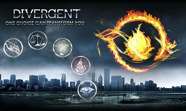 DIVERGENT - Two awesome new clips and Factions Quiz