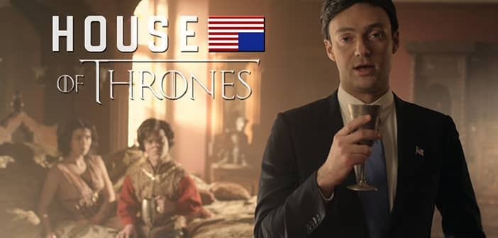 House of Cards enters Game of Thrones in this inspired mashup parody