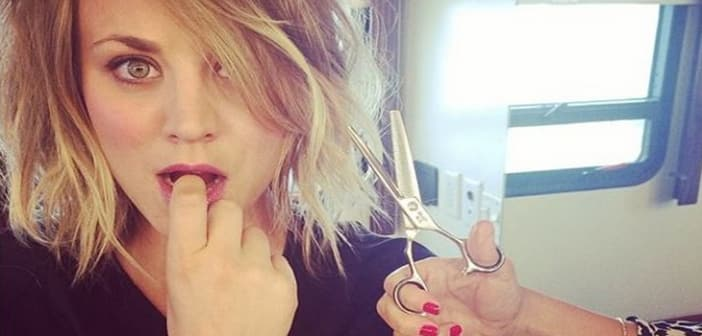 Kaley Cuoco Goes For A Spring Refresh With New 'do