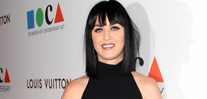 Katy Perry Decides On New 'Slime Green' Hair Color In Honor Of The New Spring Season