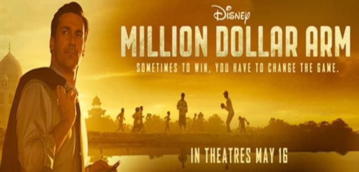 MILLION DOLLAR ARM Event At Cinemacon, Jon Hamm Award Of Excellence In Acting From Walt Disney Studios 1