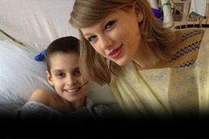 Taylor Swift Suprise Visits Young Patients Fighting Cancer