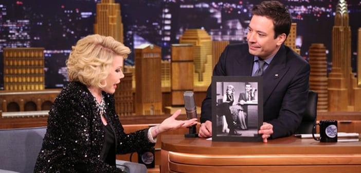 For the First Time in 26 Years Joan Rivers Is Headed Back to Tonight Show Couch