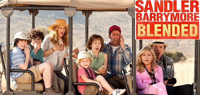 New BLENDED Trailler - Adam Sandler & Drew Barrymore  3