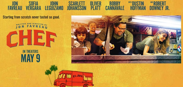 FILM CLIP featuring Sofia Vergara -- CHEF (in theaters May 9)