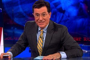 """Stephen Colbert confirmed to replace David Letterman as """"The Late Show"""" host"""