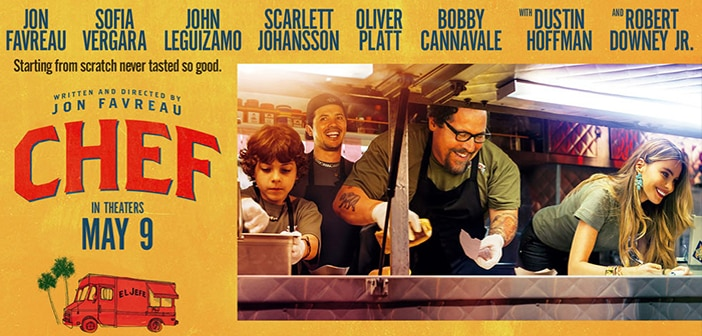 CHEF (in theaters May 9) - Sofia Vergara, Robert Downey Jr starring - POSTER & TRAILER 2