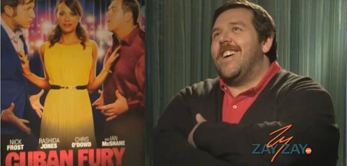Nick Frost - CUBAN FURY Interview - ZayZay.Com