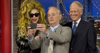 david leterman lady gaga bill murray