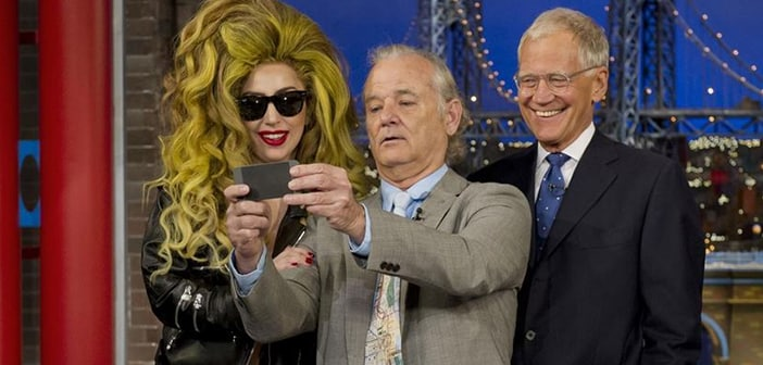 Lady Gaga poaches David Letterman's audience for her show across the street