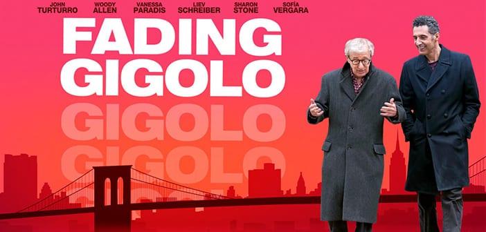 FADING GIGOLO (in select theaters April 18, 2014) - starring: Sofia Vergara, Woody Allen, John Turturro, Sharon Stone, among others. 2
