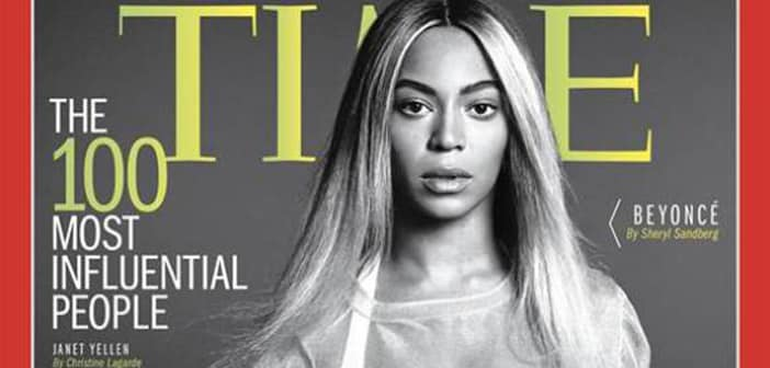 Queen Bee Reigns Supreme as TIME Magazine Lists The Most Influential People 2014 2