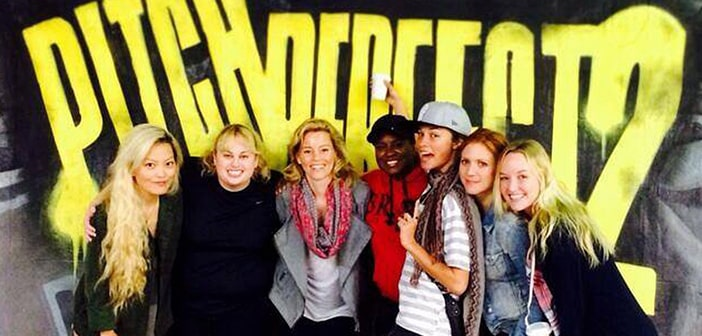 Rebel Wilson shares first image from the 'Pitch Perfect 2' set