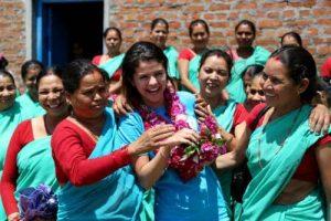 UNICEF Ambassador Selena Gomez Visits Nepal  9