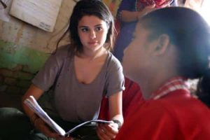 UNICEF Ambassador Selena Gomez Visits Nepal  5