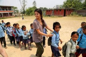 UNICEF Ambassador Selena Gomez Visits Nepal  7