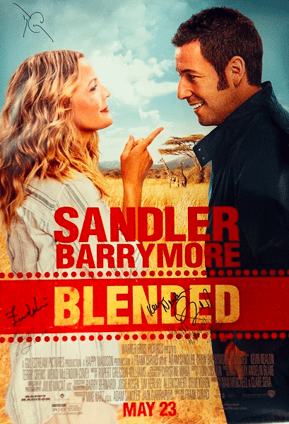 BLENDED Autographed Poster sweepstakes poster