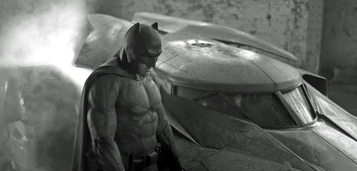 Ben Affleck as Batman, New costume and Batmobile Finally Revealed 2