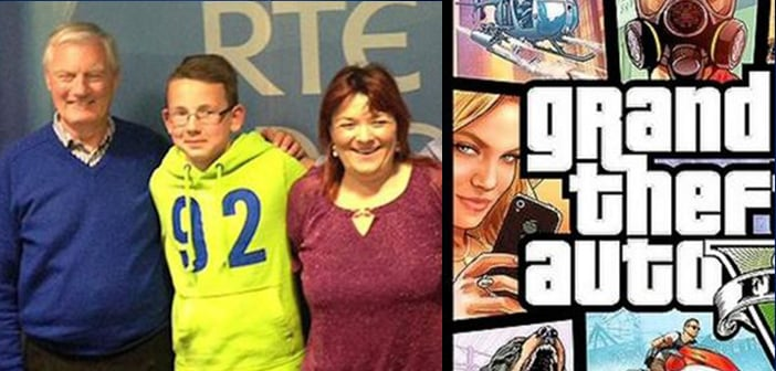 Life Lesson From 'Grand Theft Auto' Saved 11 Year Old and His Grandfather