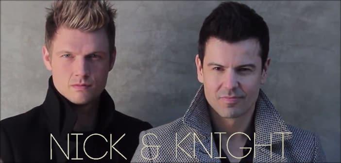 "Nick Carter Teams Up With Jordan Knight To Headline ""Nick & Knight Tour"" & Album"