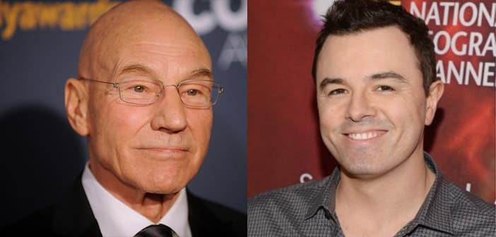 Starz will program a Seth MacFarlane comedy featuring Patrick Stewart