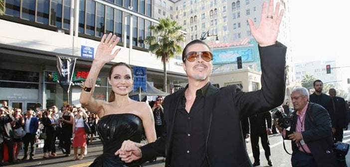 Hollywood Serial Prankster Strikes, Again, At Brad Pitt's Face