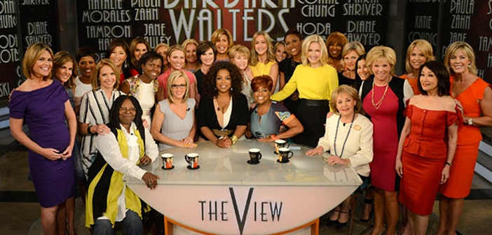 'The View' Says Farewell To Barbara Walters