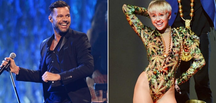 Miley Cyrus, Ricky Martin Set to Perform on 2014 Billboard Awards