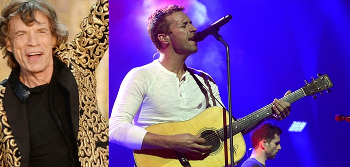 Coldplay Dedicates 'Fix You'  to Dear Friend Mick Jagger As He Mourns