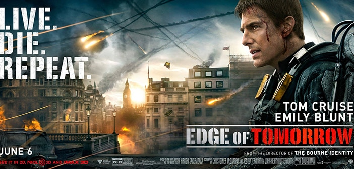 EDGE OF TOMORROW New Announcement Video & Film Stills 1