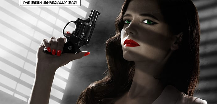 Eva Green's 'Sin City 2' Poster Gets Censure By MPAA For Inappropriatness 2