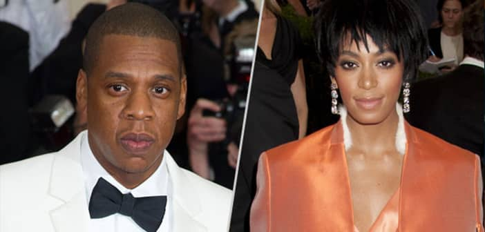 Jay-Z's Sis-In-Law, Solange Knowles, Takes a Swing (or Two or Three) At Him 2