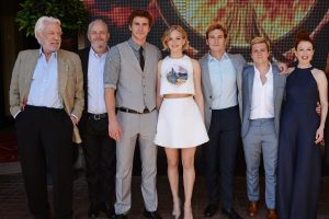 THE HUNGER GAMES: MOCKINGJAY - PART 1 Cannes Photo Call Stills 1