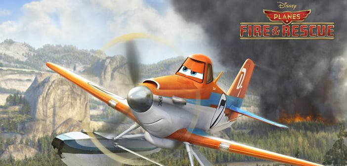 PLANES: FIRE AND RESCUE - Screening  Giveaway 1