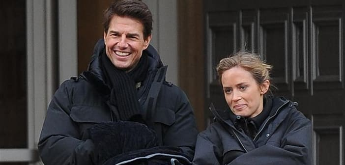 "Emily Blunt Nearly Killed Tom Cruise During Filming ""Edge Of Tomorrow"""