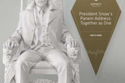 """President Snow Address Panem With """"Together as One"""" Speech 9"""