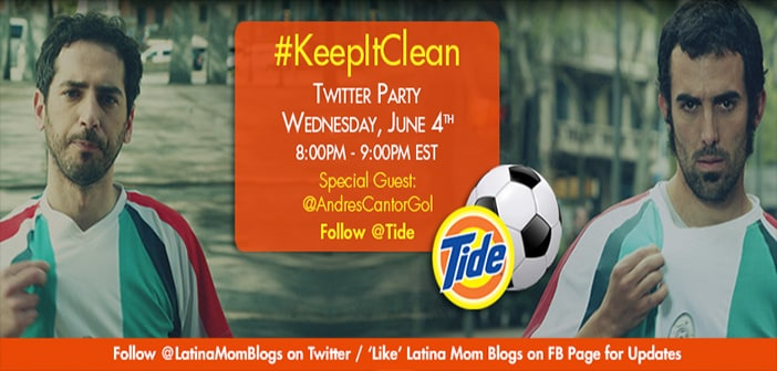 Joing Us For Tide's #KeepItClean Twitter Party Tomorrow! 2