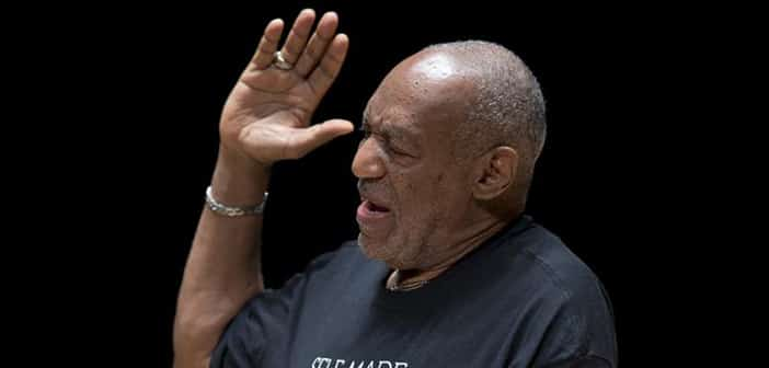 In Sweats, Bill Cosby Manages Rousing Speech At Fallen Classmate's Memorial