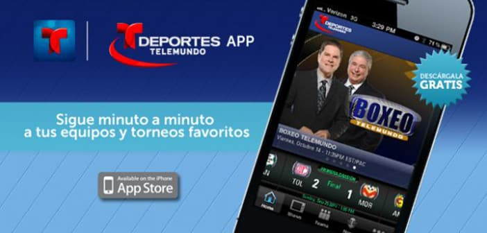Deportes Telemundo launches News App on Mobile