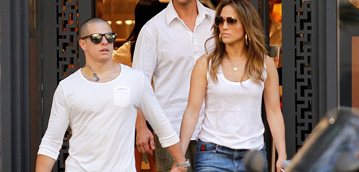 Jennifer Lopez Catches beau Casper Smart In Sexting Scandal